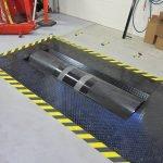 Hazard floor tape